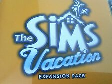 Sims Game Vacation Expansion Pack Video Games PC Disc CD Rom Add On cds Software