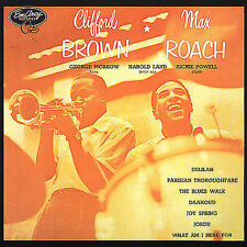 Clifford Brown & Max Roach - Self Titled (CD-1990 Emarcy) Made in Japan