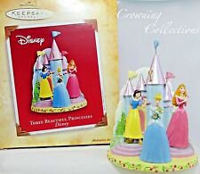2004 Hallmark Three Beautiful Princesses Disney Ornament Cinderella & Snow White