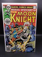 MARVEL SPOTLIGHT #29 - 2nd Solo Moon Knight (1976) Midgrade Disney+ MCU