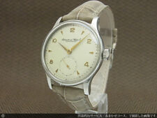 Rare! IWC Cal.88 Hand Winding Watch Small Second Vintage 1940's Stainless Steel