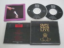 SIMPLE MINDS/LIVE/IN THE CIUDAD DE LIGHT(VIRGIN CDSM 1) 2XCD CAJA