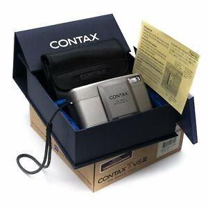 Contax TVS III 35mm Point & Shoot Camera (6 Months Warranty)