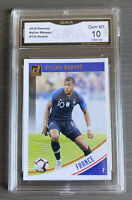 2018-19 Kylian Mbappe Panini Donruss  #132 GEM MINT 10 France Kit