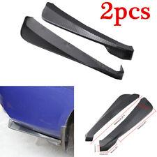 2pcs Carbon Fiber Look Car Accessories Rear Bumper Diffuser Lip Body Kit