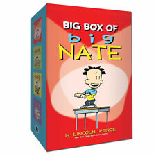 Big Box of Big Nate Box by Lincoln Peirce Volume 1-4 Books Collection Set NEW