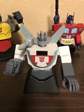 2002 Hard Hero Transformers WHEELJACK Gen 1 Bust W/ Box MINT #1295 / 2500