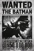 Metal Tin Sign wanted the batman  Decor Bar Pub Home Vintage Retro