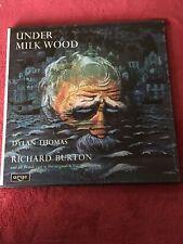 RG 21/22 Dylan Thomas / Under Milk Wood with Richard Burton / 2LP Box  Set Ex