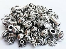 Crafty EC-5004 120-Piece Bali Style Jewelry Making Metal Bead Caps Deluxe New