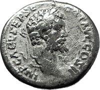 SEPTIMIUS SEVERUS 194AD Emesa Rare Victory Ancient Silver Roman Coin i59211