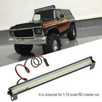 155mm Universal Roof Lamp LED Light Bar for 1/10 Scale RC Crawler Car Accessory