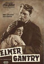 IFB 5643   ELMER GANTRY   Burt Lancaster, Jean Simmons   Top