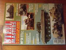 $$v Revue Steel Masters N°2 Aberdeen  Sherman DD  AMD 178  SdKfZ 231 huit roues