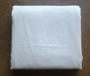 New Room Essentials Twin Size Flat Sheet, Cream