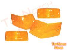 Front & Rear Indicator, Blinker Orange Lens Set Of 4 Pcs For Vespa, LML Models