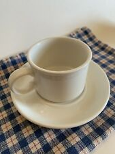 MIDWINTER STONGEHENGE WHITE PATTERN CUP AND SAUCER WEDGEWOOD GROUP