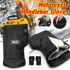 Motorcycle Handlebar Muffs Fleece Gloves Waterproof Motorbike /Bike Hand Muff UK