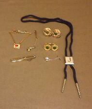 Lot of 7 Pieces Vintage Men's Jewelry (KP1329)