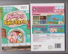 Kirby el Epic Yarn NINTENDO WII