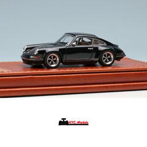 Singer 911 Coupe (Porsche 964) Black 1:64 Make Up Titan64 TM001H