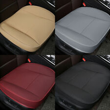 2Pcs Car Front Seat Cover Breathable PU Leather Cushion Mat Protector Universal