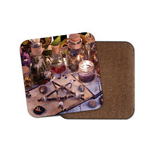 Wicca Occult Divination Witchcraft Coaster - Medicine Witch Cool Fun Gift #16131