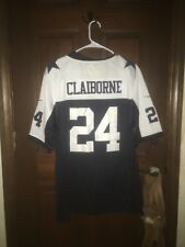Mens Nike Size Large Morris Claiborne Dallas Cowboys Nfl Football Jersey ~ Sewn