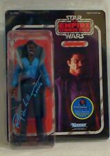"""THE EMPIRE STRIKES BACK  LANDO CALRISSIAN 12"""" Signed by Billy Dee Williams  COA"""