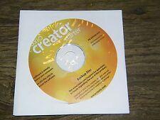 Roxio Creator Starter Disk pn 2GYG6 A00 CD Software 2010