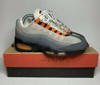 "VTG Nike Air Max 95 SC ""Black / Safety Orange"" 1997 Retro [604069-081] US 7.5"