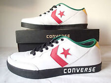 CONVERSE ALL STAR - FAST BREAK 2 OX - 118863 PELLE BASSE LEATHER BIANCHE WHITE