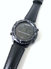 Súper rara SUUNTO X-Lander Militar Negro SS012926110 Retro ABC Militar Reloj