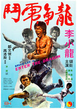 Reproduction Bruce Lee, Vintage Poster, Enter The Dragon, Home Wall Art