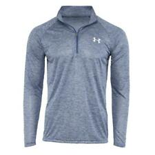 New With Tags Men's Under Armour 1/2 Zip Tech Muscle Pullover Long Sleeve Shirt