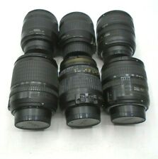 NIKON DX Lense Lot of 6 Tested Working 28-200, 18-70, 18-135mm Free Shipping