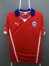 PUMA CHILE 2014 HOME FOOTBALL SOCCER SHIRT JERSEY CAMISETA WORLD CUP SIZE M
