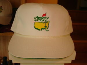 RARE Vintage New Old Stock MEMBERS ONLY AUGUSTA NATIONAL GOLF CLUB MASTERS Hat