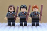 Harry Potter Ron Weasley Hermione Grainger Toy Wizard Mini Figures use with lego