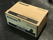 Lot of 10 Panasonic AJ-P126L DVCPRO 126-Minute Video Cassette (Large)
