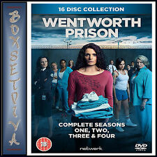 WENTWORTH PRISON - COMPLETE SEASONS 1 2 3 & 4 **BRAND NEW DVD BOXSET**
