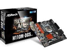 Asrock Intel H110M-DGS R3.0 Micro ATX DDR4-SDRAM Motherboard