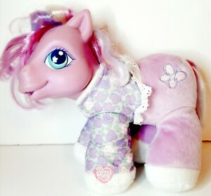 My Little Pony G3 Baby Alive Petal Dove Plush  Talking Baby works bottle giggles
