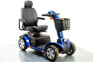 Pride Colt Pursuit Used Mobility Scooter 8mph All-Terrain Transportable Large Of