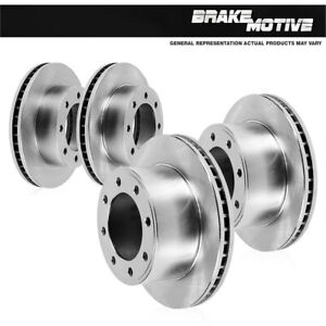 For Chevy Silverado 1500 HD 2003 2WD And Front And Rear Brake Disc Rotors