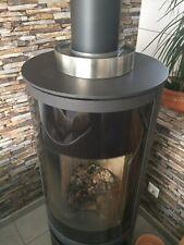 Luftbefeuchter Edelstahl 160mm-Verdunster-Raumluftbefeuchter für Kaminofen, Ofen
