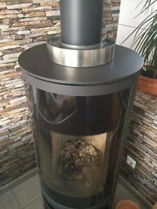Luftbefeuchter Edelstahl -Verdunster-Raumluftbefeuchter-Humidifier für Kaminofen