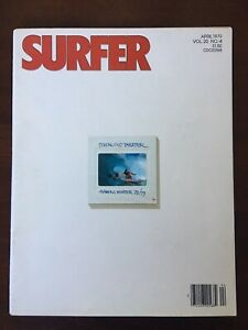 SURFER Magazine Vol. 20, No. 4 1979 Europe North Shore The Wedge Reno Abellira