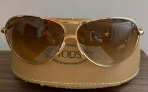 Tod's TO0008 Sunglasses Women's sunglasses in Gold! Exquisite! RRP £295!