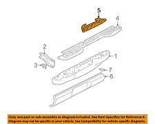 GM OEM Rear Bumper-Step Pad Protector Guard Sill Plate 15720781